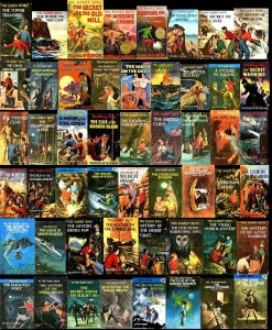 "THE FIRST BOOKS THAT MADE ME FANTASIZE I COULD WRITE THRILLERS SOMEDAY: THE HARDY BOYS. NOBODY CAUGHT A ""NO-GOOD-NIK"" LIKE FRANK AND JOE AND CHUMS!"