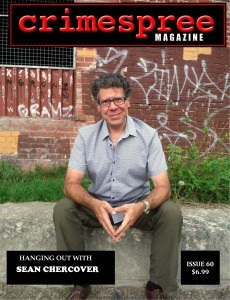 Current print edition of Crimespree Magazine, featuring ace crime writer Sean Chercover. My work is in the digital side, but I like to promote good writers when I can, so go grab Sean's newest and enjoy.