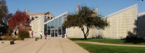 This temple of books was designed by world-renown architect Helmut Jahn. Michigan City takes its library seriously!